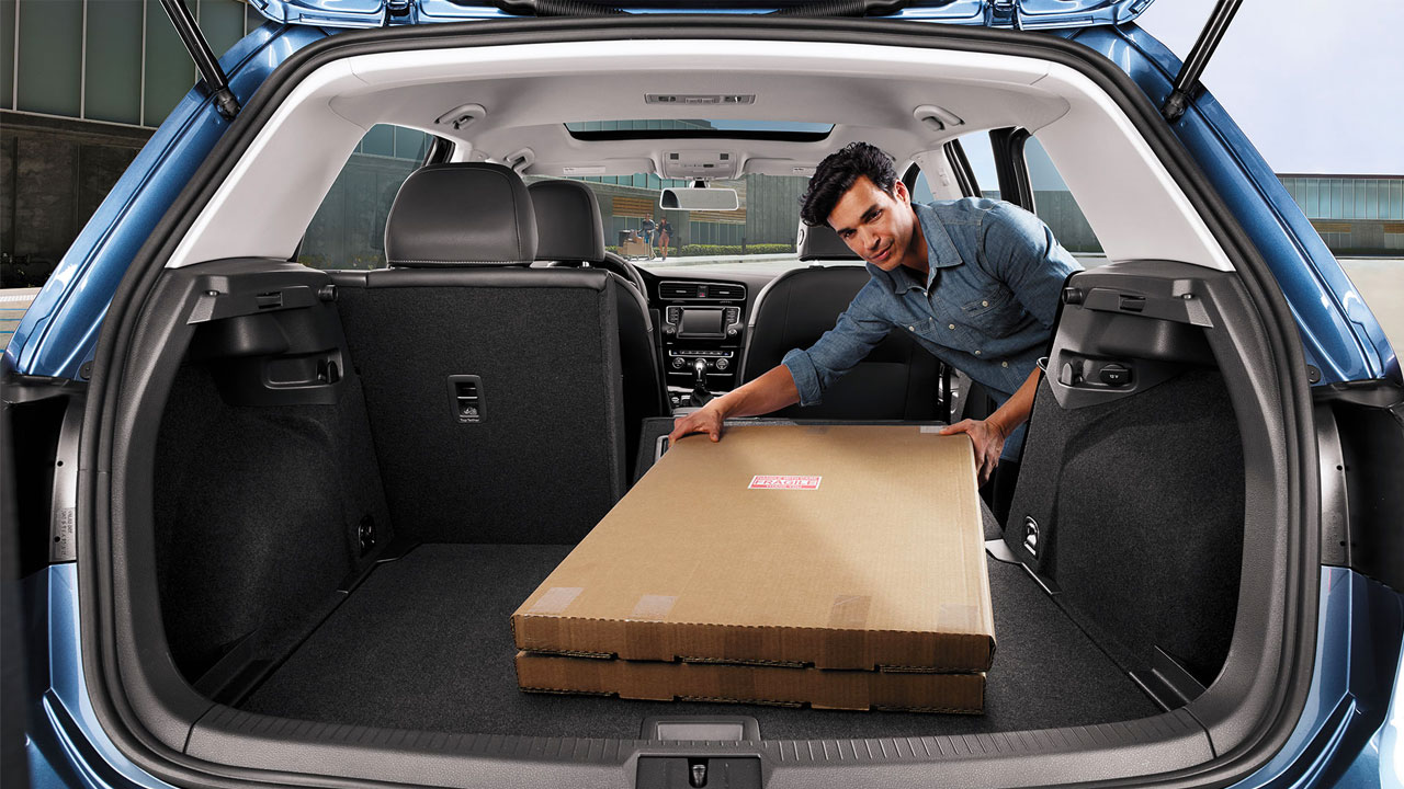 2019 VW Golf Hatchback - enhanced cargo space with folding seats